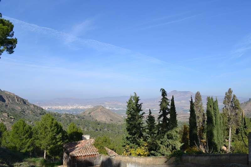 Jumilla vista desde Santa Ana del Monte
