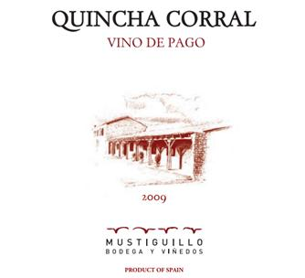Etiqueta Quincha Corral 2009