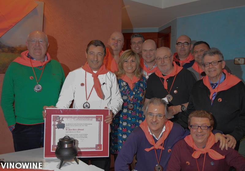 Foto de familia Restauranteros y Roca