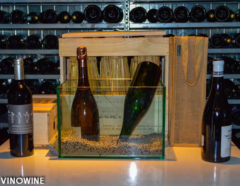 Champagne evocado por Pitu Roca