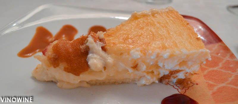 Tarta de queso de El Panadero