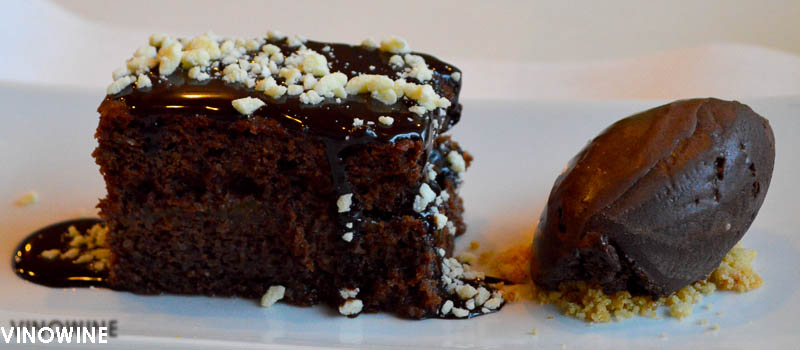 Tarta de chocolate del Rodamón de Russafa