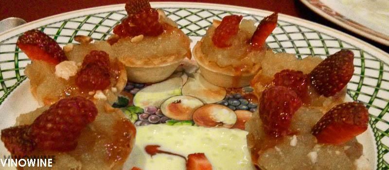 Restaurante one one cocina francesa en alicante for Postres cocina francesa