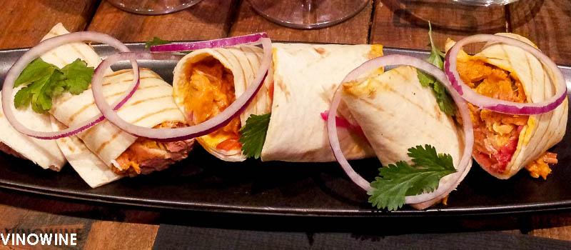 Taco mejicano de cochinita pibil de Canalla Bistro