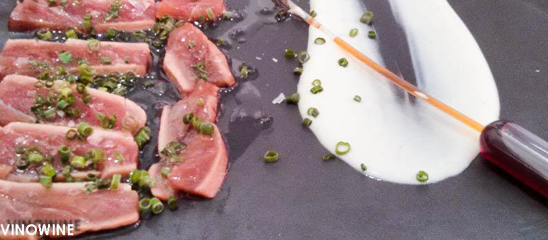 Tataki de atún del Keki en Murcia