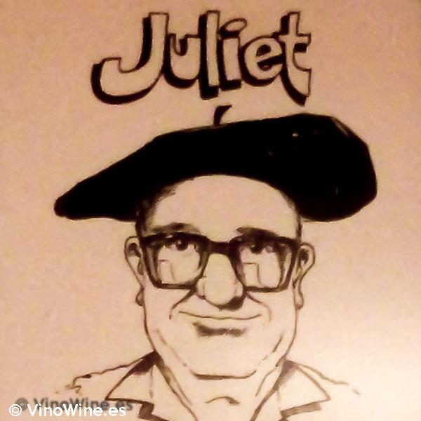 Retrato del fundador de Casa Juliet de Alcoy