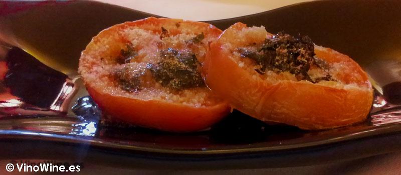 Renyons de masero como aperitivo de bienvenida en Arroceria Caragol de Alcoy