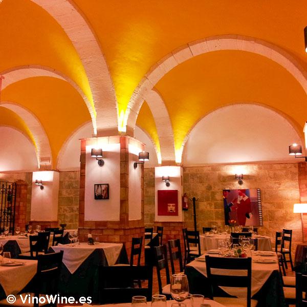 Sala abovedada de la Arrocería Caragol de Alcoy