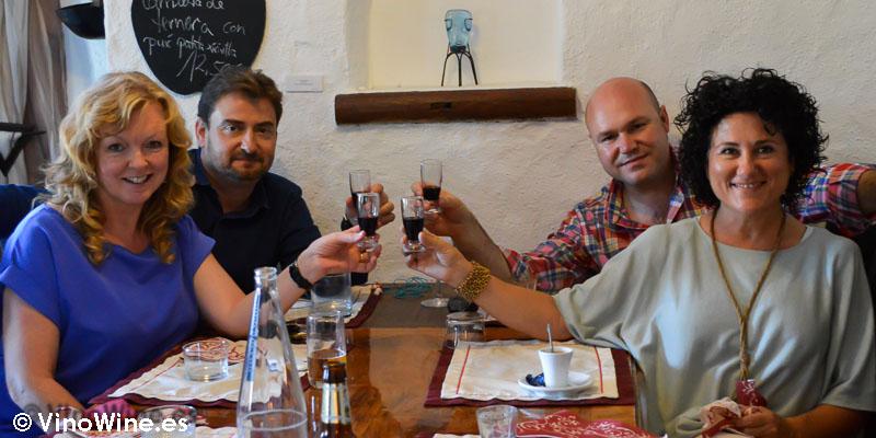 Aniversario VinoWine con Cath Alexander, José Enrique López, José Ruiz y Ana Juan