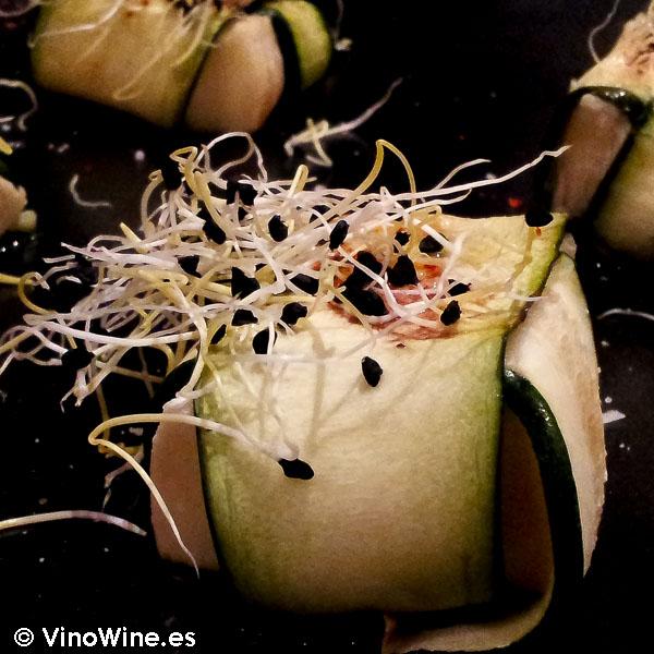 Calabacin con queso brie de Restaurante Sant Francesc 52 de Alcoy