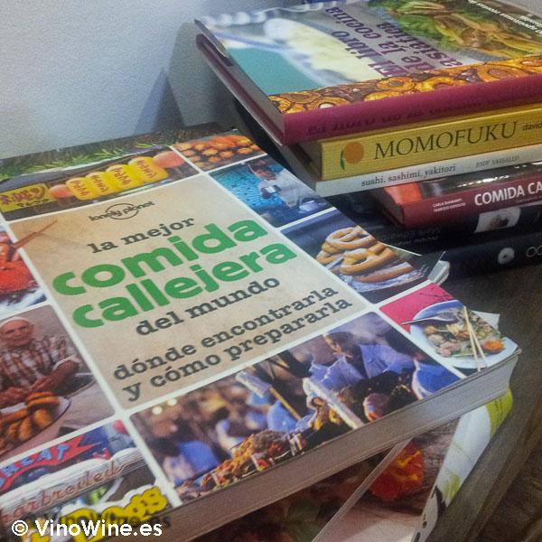Libros de cocina en El Delicat de Valencia
