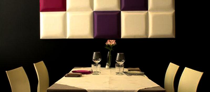 Mesa montada en Restaurante Sant Francesc 52 de Alcoy