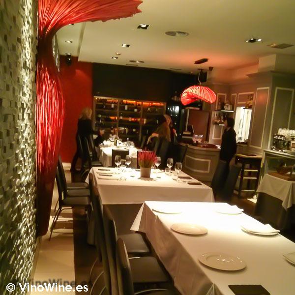 Sala de Restaurante Zarate Jatetxea en Bilbao