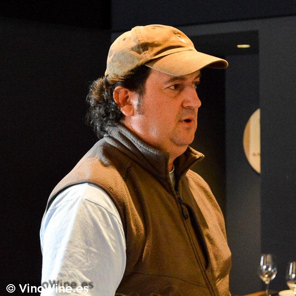 Benjamín Romeo propietario de Bodega Contador