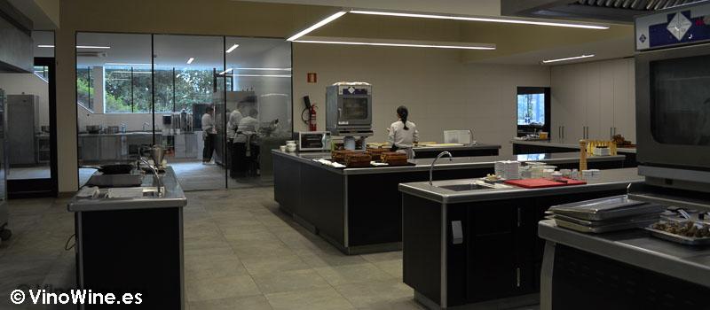 Cocina del Azurmendi