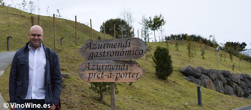 Complejo gastronómico Azurmendi