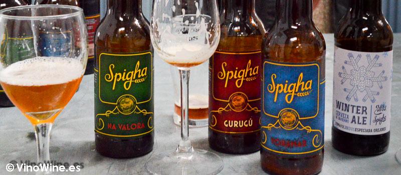 Cervezas artesanales Spigha