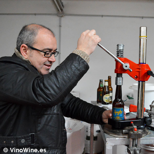 Toni Alós de cerveza artesanal Spigha