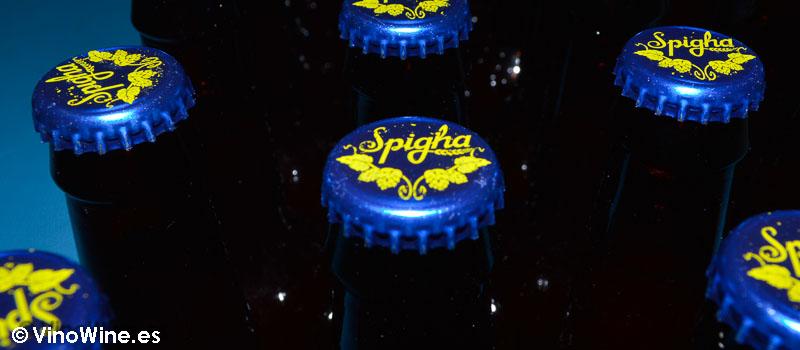 Voramar de Spigha en su segunda fermentacion en botella