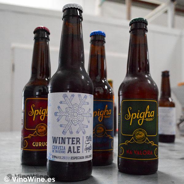 Cerveza artesanal Spigha