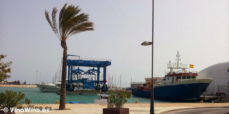 Terraza con vistas en La Mar de Arroz de Alicante