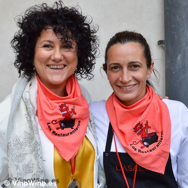 Dos nuevas Restauranteras Begoña Rodrigo y Ana Juan