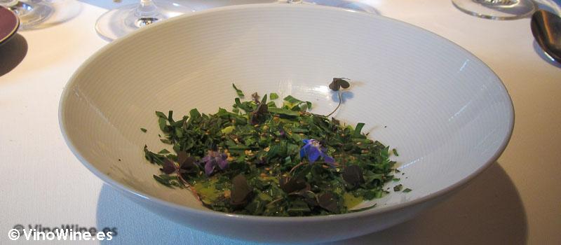 Holandesa de mostaza con hierbas de Restaurante L'Escaleta en Cocentaina