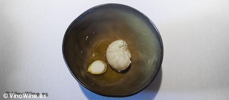 Queso fresco en aceite de oliva de Restaurante L'Escaleta en Cocentaina