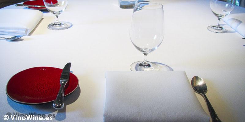 Servicio inicial en el Restaurante L'Escaleta en Cocentaina