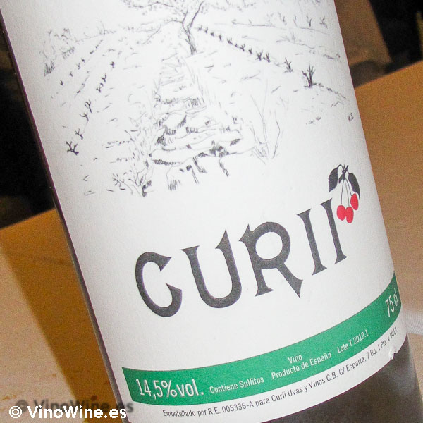 Curii, el vino de Alberto Redrado, en Vins i Més