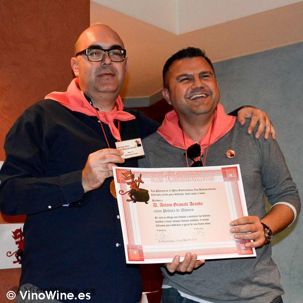 RestauranteroToni Grimalt nuevo blogger en VinoWine