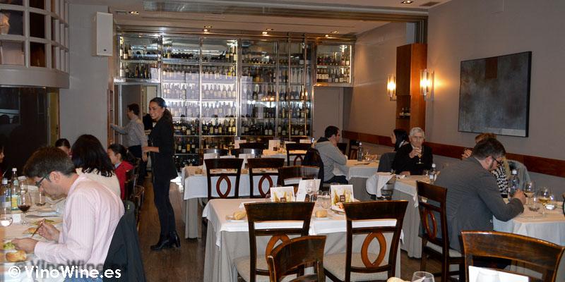 Sala del Restaurante 33 en Tudela