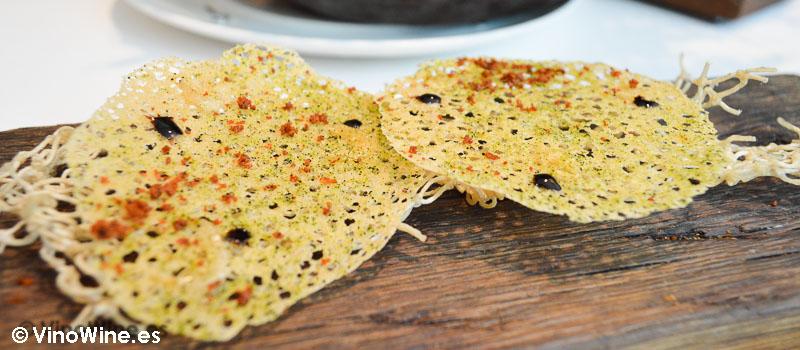 Tartaleta de Camarones Celler de Can Roca