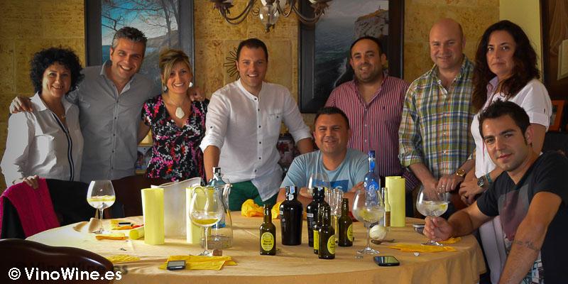 Una comida en casa de Toni Grimalt nuevo blogger en VinoWine