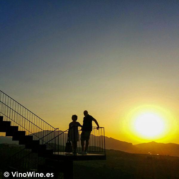 Puesta de sol en la Montaña de Alicante