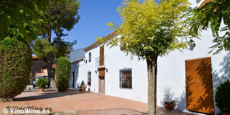 Casa de la Finca el Chaconero de Enrique Mendoza