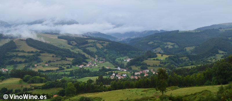 Entorno de Solana en Ampuero (Cantabria)