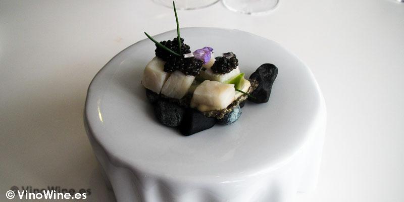 Esturión caviar de Quique Dacosta en Denia