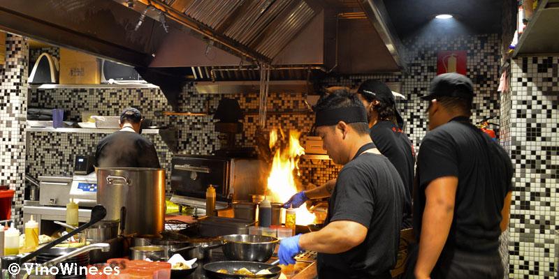 Los cocineros de StreetXO