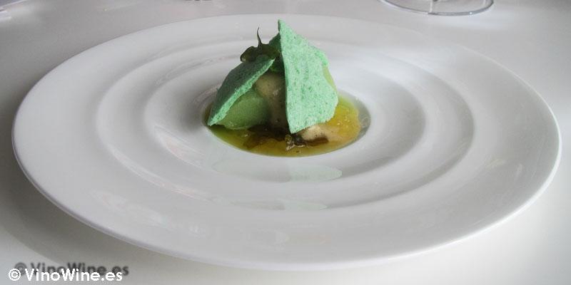 Mojito de pepino y algas de Quique Dacosta en Denia