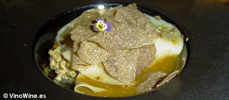 Pitu de Caleya pasta fresca y trufa de verano de La Salita