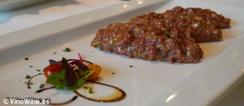 Steak Tartar de Solana en Ampuero Cantabria