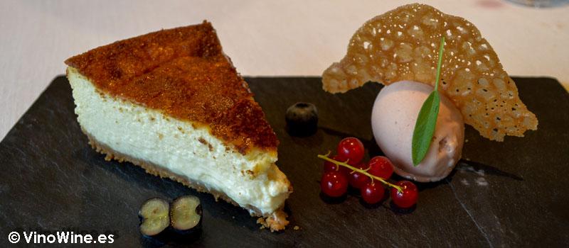Tarta de queso de Solana en Ampuero Cantabria