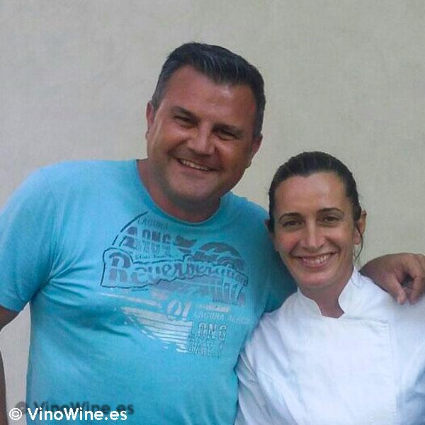 Toni Grimalt con Begoña Rodrigo de La Salita