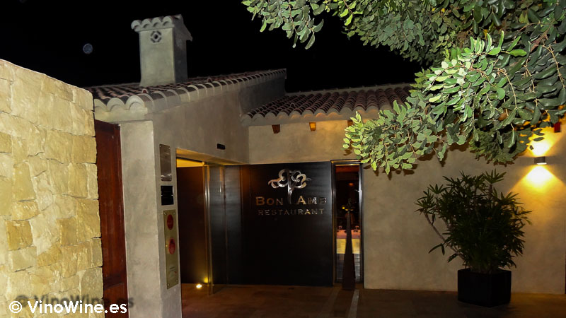Entrada Restaurante Bon Amb