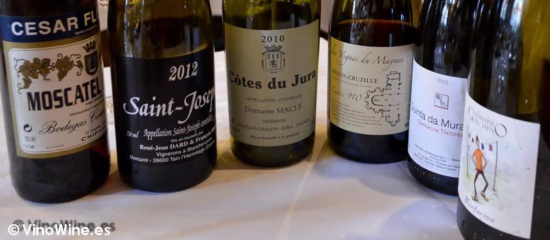 Los vinos disfrutados en Bodega La Cigaleña en Santander