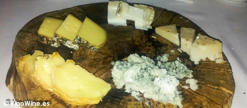 Selección de quesos en Restaurante Bon Amb