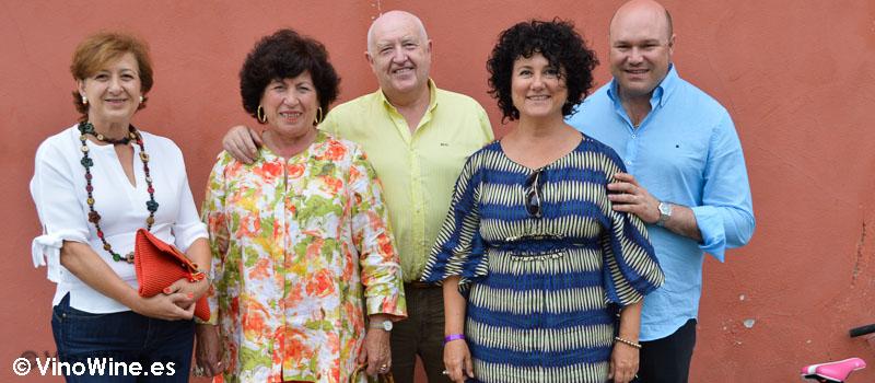 Con los Restauranteros de Cantabria en Hermanas Cofiño