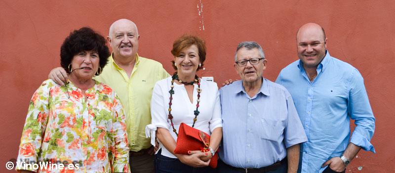 Con nuestros amigos restauranteros de Cantabria en Hermanas Cofiño
