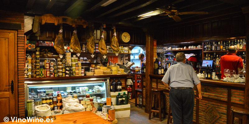 Tienda bar de Hermanas Cofiño en Cantabria